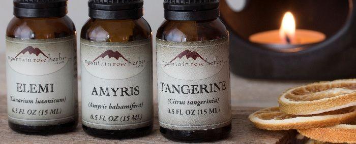 aceite esencial de Amyris balsamifera