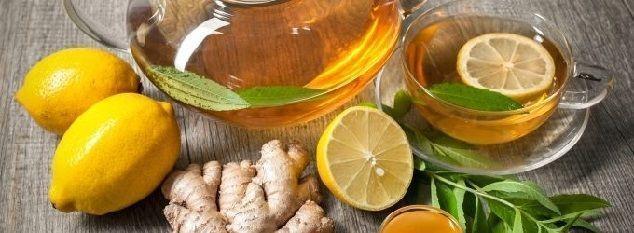 beneficios de la infusión de jengibre y limón