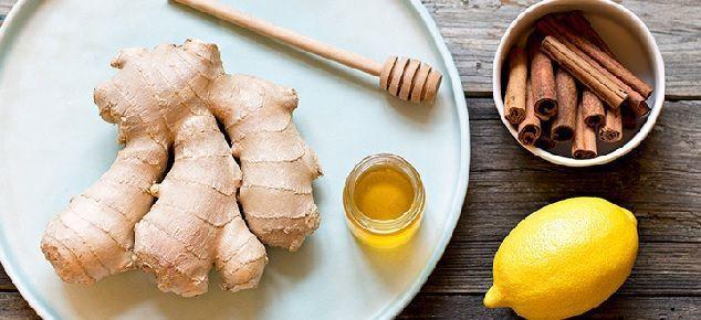 infusión de jengibre y limon