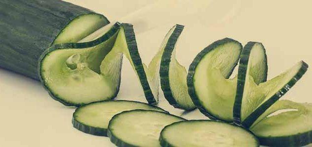 propiedades del pepino en alimentación