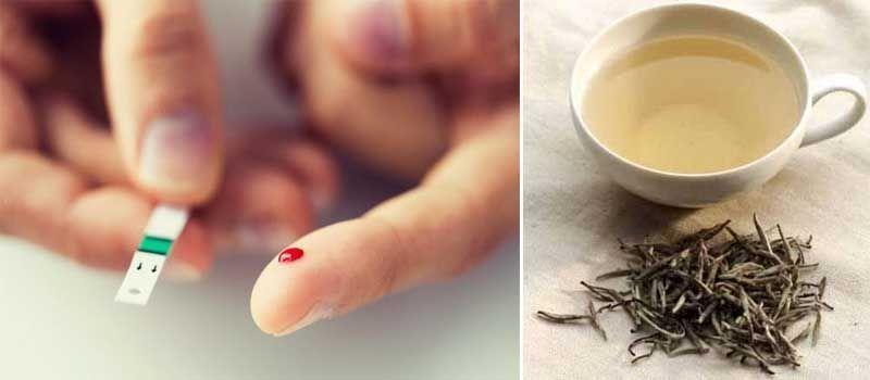 propiedades del té blanco y diabetes