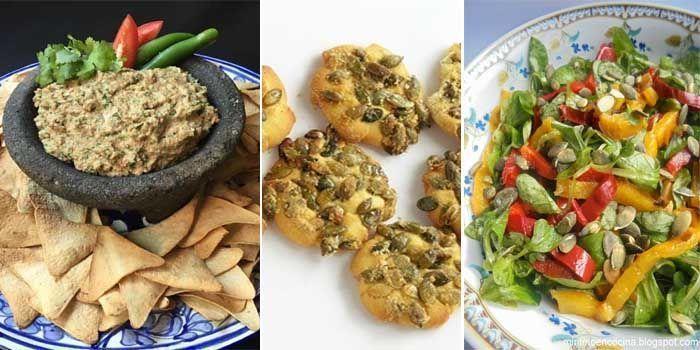 recetas con semillas de calabaza