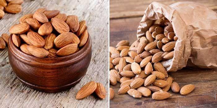 Vitaminas y propiedades de las almendras