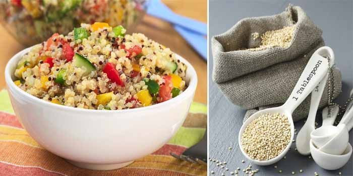 Propiedades de la quinoa y alto contenido en fibra