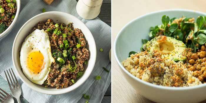 alimentos con propiedades de la quinoa