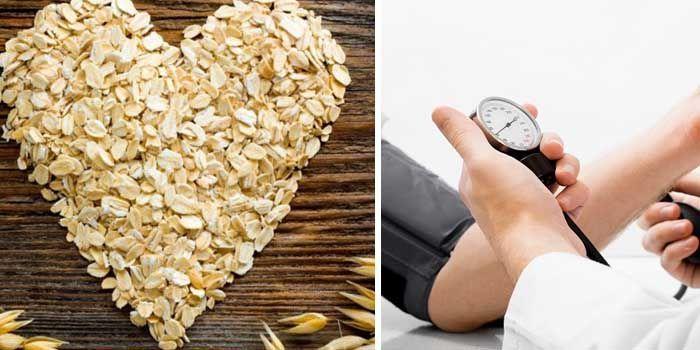 avena y alimentos que bajan la presión