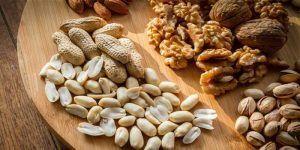 propiedades de las nueces