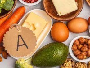 Alimentos con vitamina A