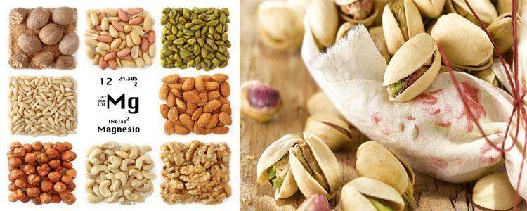 Alimentos que contiene magnesio