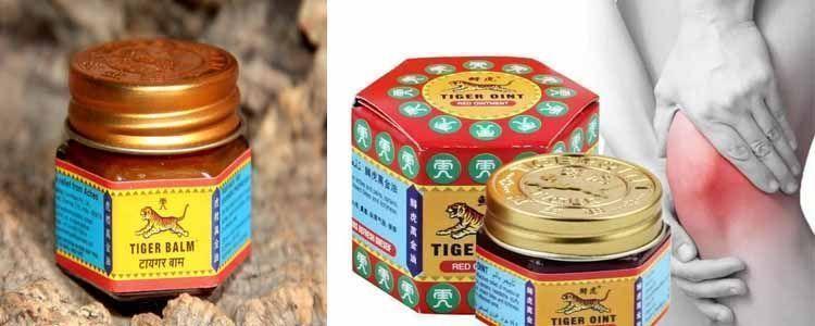 Aplicaciones del bálsamo de tigre