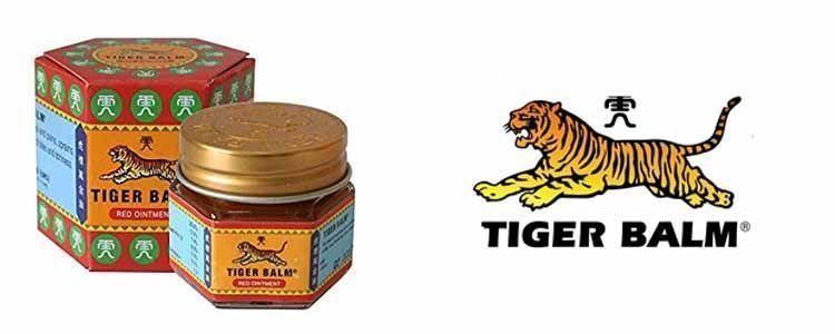 Bálsamo rojo y blanco de tigre