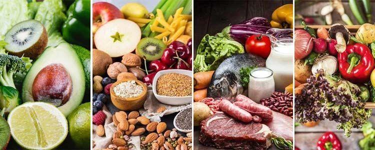 Nutrientes y alimentación saludable