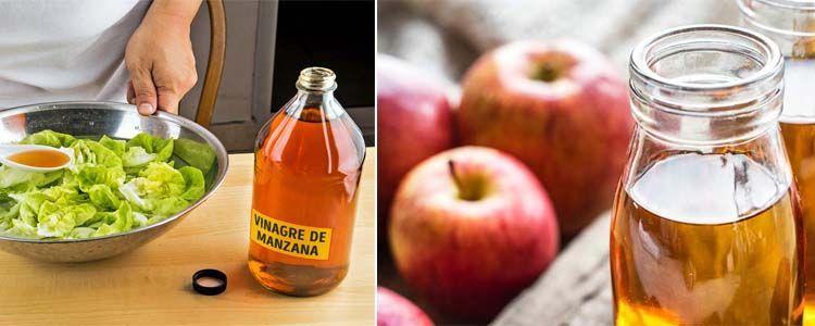 Propiedades del vinagre de manzana en ensaladas