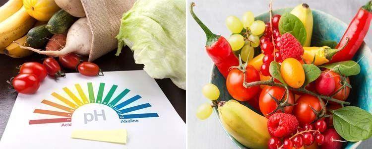 Efectos de la dieta alcalina