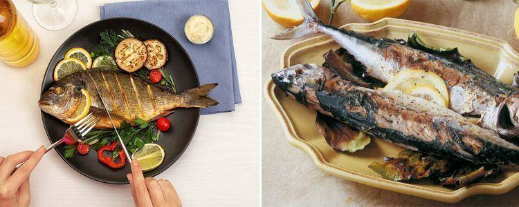 Ventajas de comer pescado