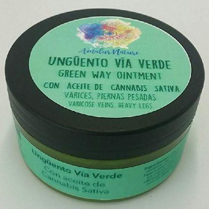 Crema para varices con aceite de cannabis