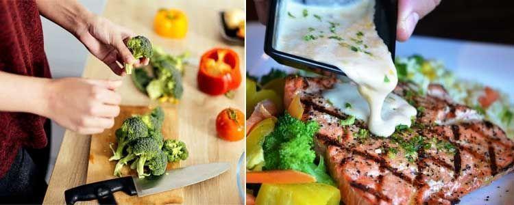 Alimentos de la dieta Scardale