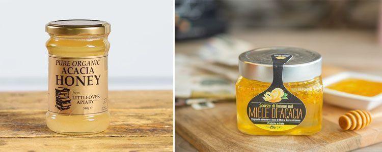 Productos con miel de acacia