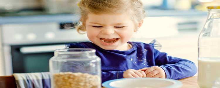Usos de la avena en la alimentación infantil