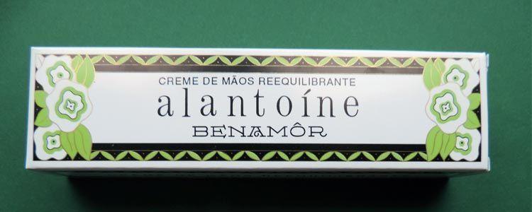 Alantoína principio activo