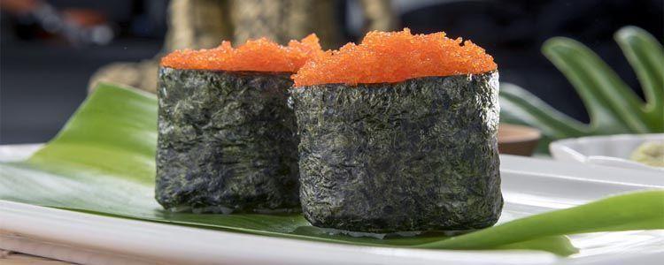 Masago y huevas de pescado