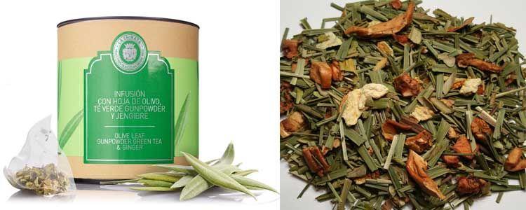 Propiedades infusión de hojas de olivo