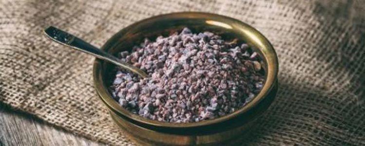 Sustituo sal negra y sal común