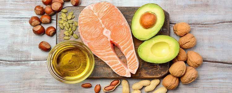 Alimentos con vitamina F