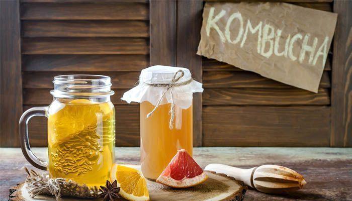 Efectos de tomar kombucha