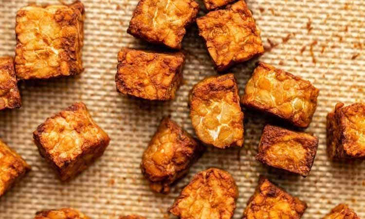 Alimentos fermentados tempeh