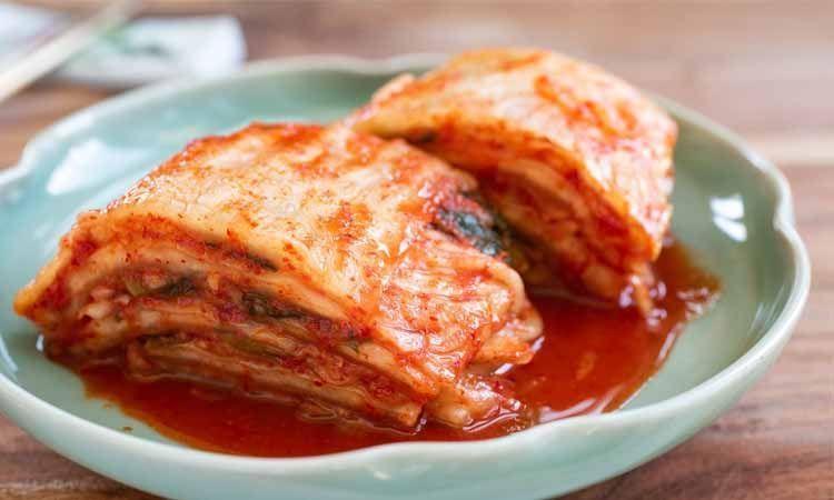 Kimchi alimento fermentado