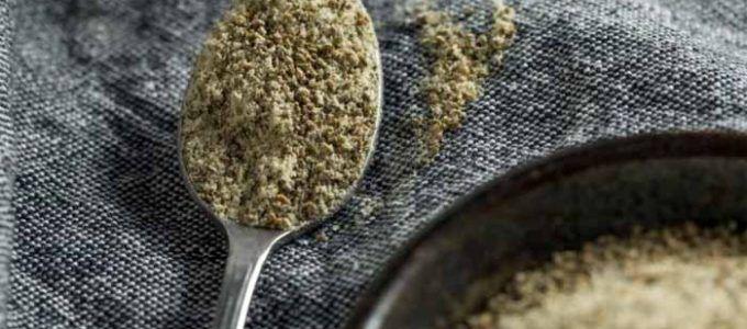 Aporte de minerales semillas de apio
