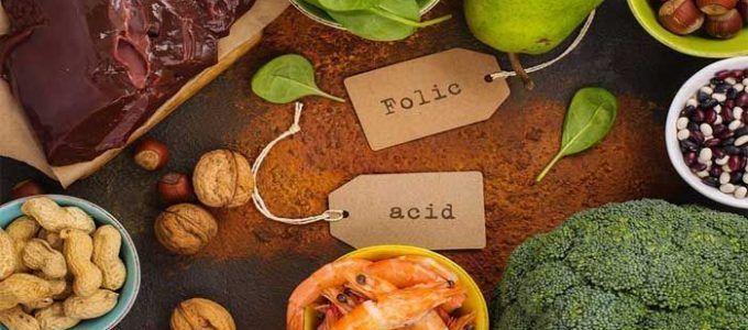 alimentos con más ácido fólico